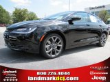 2015 Black Chrysler 200 S #97229234