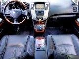 2008 Lexus RX 400h Hybrid Black Interior