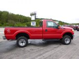 2015 Vermillion Red Ford F250 Super Duty XL Regular Cab 4x4 #97229045