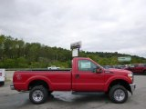 2015 Vermillion Red Ford F250 Super Duty XL Regular Cab 4x4 #97229044