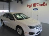 2011 White Suede Ford Fusion S #97229112