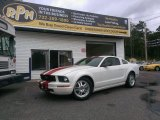 2007 Performance White Ford Mustang V6 Premium Coupe #97274073