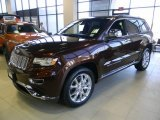 2014 Deep Auburn Pearl Jeep Grand Cherokee Summit 4x4 #97299062