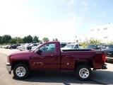 2015 Deep Ruby Metallic Chevrolet Silverado 1500 WT Regular Cab 4x4 #97299232