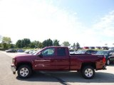 2015 Deep Ruby Metallic Chevrolet Silverado 1500 LT Double Cab 4x4 #97299231