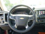 2015 Chevrolet Silverado 1500 LT Double Cab 4x4 Steering Wheel