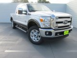 2015 White Platinum Ford F250 Super Duty Lariat Crew Cab 4x4 #97299037