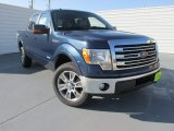2014 Blue Jeans Ford F150 Lariat SuperCrew 4x4 #97299033