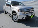 2014 Ingot Silver Ford F150 XLT SuperCrew 4x4 #97299027