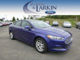 2013 Deep Impact Blue Metallic Ford Fusion SE #97323038