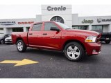 2012 Deep Cherry Red Crystal Pearl Dodge Ram 1500 Express Crew Cab #97323101