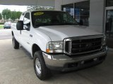 2003 Oxford White Ford F250 Super Duty Lariat SuperCab 4x4 #97323396
