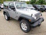 2015 Jeep Wrangler Billet Silver Metallic