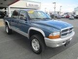 2003 Atlantic Blue Pearlcoat Dodge Dakota SLT Quad Cab 4x4 #97323240