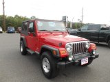 2006 Flame Red Jeep Wrangler Unlimited 4x4 #97322871