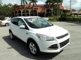 2014 Oxford White Ford Escape SE 2.0L EcoBoost #97358349