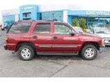 2004 Sport Red Metallic Chevrolet Tahoe LS #97358292