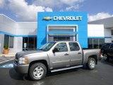 2009 Graystone Metallic Chevrolet Silverado 1500 LT Crew Cab 4x4 #97396289