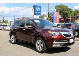 2011 Dark Cherry Pearl Acura MDX Technology #97396169
