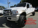 2005 Oxford White Ford F350 Super Duty King Ranch Crew Cab 4x4 #97396445