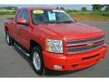 2013 Victory Red Chevrolet Silverado 1500 LT Extended Cab #97430615