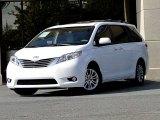 2012 Super White Toyota Sienna XLE #97430333