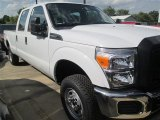 2015 Oxford White Ford F250 Super Duty XL Crew Cab 4x4 #97430157