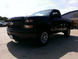 2014 Black Chevrolet Silverado 1500 WT Regular Cab #97430216