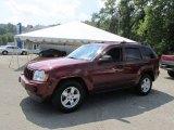 2006 Red Rock Crystal Pearl Jeep Grand Cherokee Laredo 4x4 #97430190
