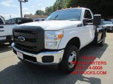 2014 Ford F350 Super Duty XL Regular Cab 4x4 Flat Bed Data, Info and Specs