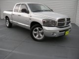 Bright Silver Metallic Dodge Ram 1500 in 2008