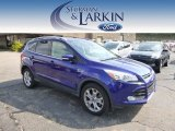 2014 Deep Impact Blue Ford Escape Titanium 2.0L EcoBoost 4WD #97475425
