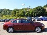 2015 Bronze Fire Metallic Ford Fusion S #97495287
