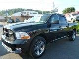 2012 Black Dodge Ram 1500 ST Quad Cab 4x4 #97495340