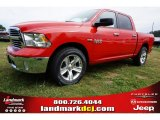 2014 Flame Red Ram 1500 Big Horn Crew Cab #97500200