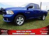 2014 Blue Streak Pearl Coat Ram 1500 Express Quad Cab #97500199