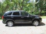 2011 Ebony Black Kia Sorento LX V6 AWD #97500438