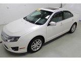 2010 White Platinum Tri-coat Metallic Ford Fusion SEL #97500142