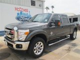 2015 Magnetic Ford F250 Super Duty Lariat Crew Cab 4x4 #97521794