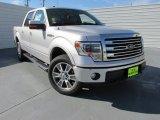 2014 Ingot Silver Ford F150 Lariat SuperCrew 4x4 #97521928