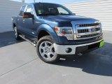 2014 Blue Jeans Ford F150 XLT SuperCrew 4x4 #97521926