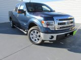 2014 Blue Jeans Ford F150 XLT SuperCrew #97521922