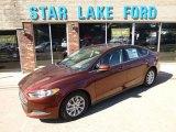 2015 Bronze Fire Metallic Ford Fusion S #97562216
