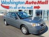 2007 Dark Gray Metallic Chevrolet Malibu LS Sedan #97561872