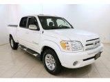 2005 Natural White Toyota Tundra SR5 Double Cab #97562124