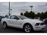 2007 Performance White Ford Mustang V6 Premium Coupe #97561936