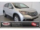 2014 Alabaster Silver Metallic Honda CR-V EX #97561699