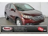 2014 Basque Red Pearl II Honda CR-V EX-L #97561697