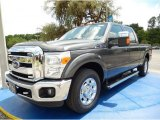 2015 Magnetic Ford F250 Super Duty Lariat Crew Cab #97561835