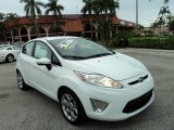 2013 Oxford White Ford Fiesta Titanium Hatchback #97561833